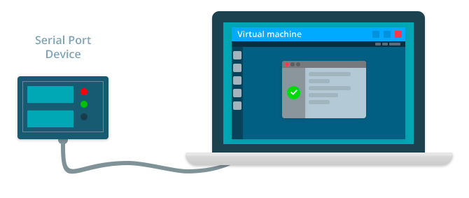 Work with COM in Virtual Machine with FlexiHub
