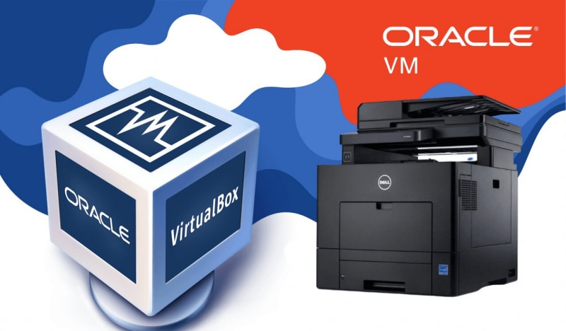 add printer to virtualbox