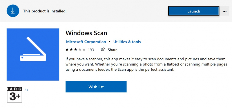 Add scanner windows