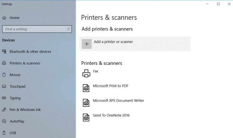 How to scan in windows
